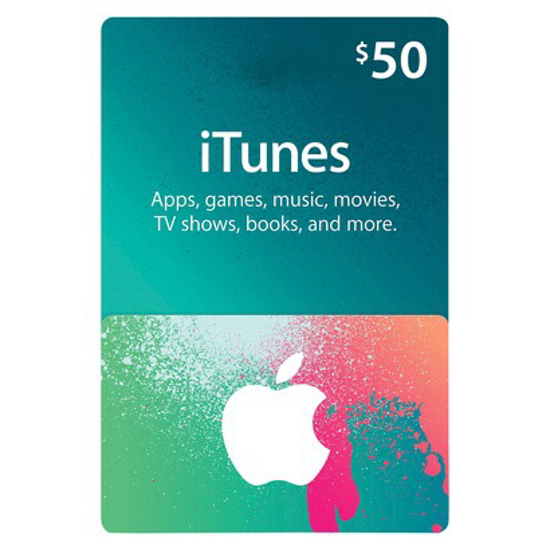 Picture of iTunes Card $50