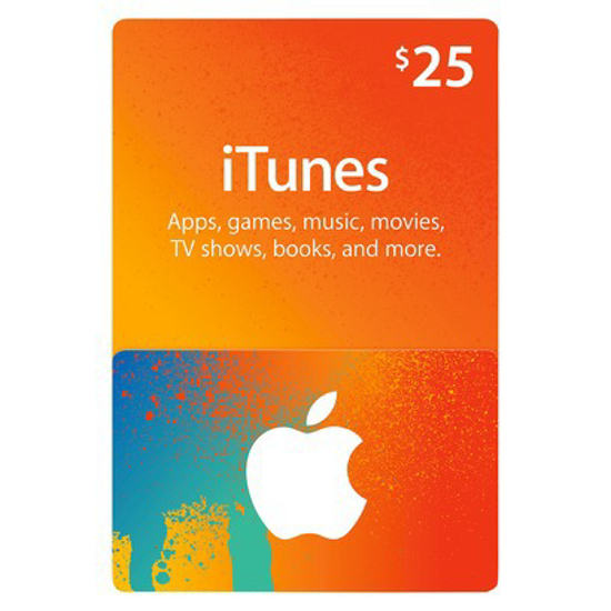 Picture of iTunes Card $25