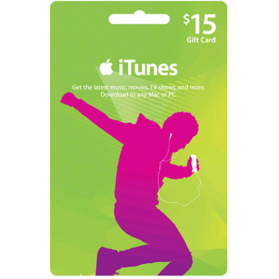 Picture of iTunes Card $15