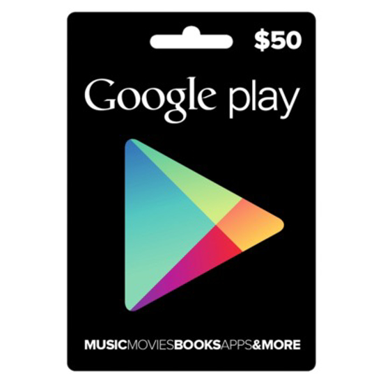 Picture of Google Play Card $50