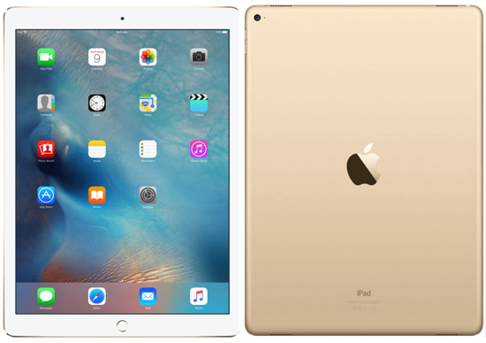 """Picture of Apple Ipad Pro (12.9"""") 128GB WiFi + LTE - Gold"""