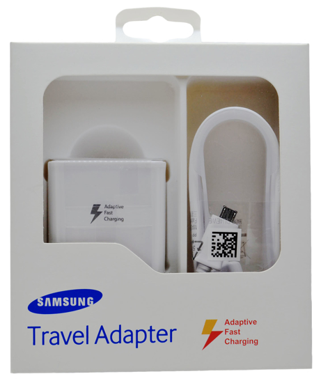 Picture of Samsung Travel Adapter (AFC) - White