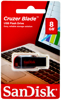 Picture of Sandisk Cruzer Blade USB Flash Drive - 8GB