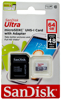 Picture of Sandisk Ultra Micro SDXC UHS-I Card w/ Adapter - 64GB