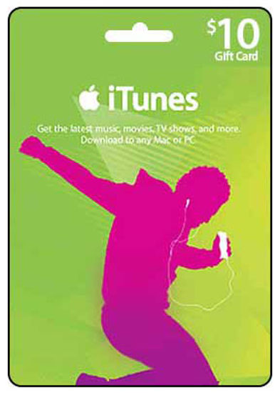 Picture of iTunes Card $10