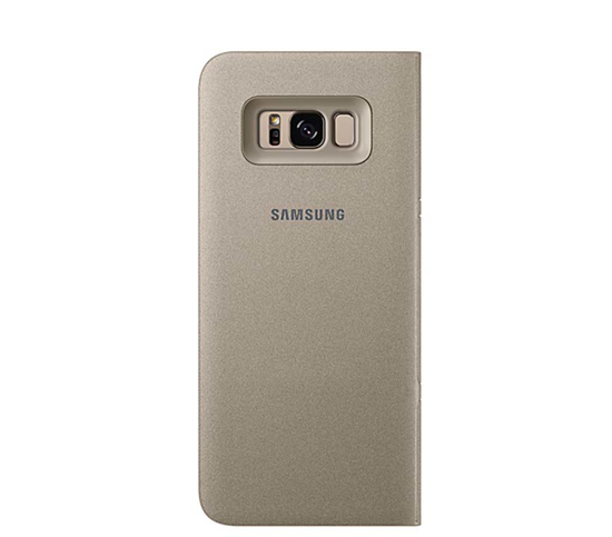 Picture of Galaxy s8 LED View Cover Gold