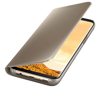 Picture of Galaxy s8+ Clear View Stand Cover Gold