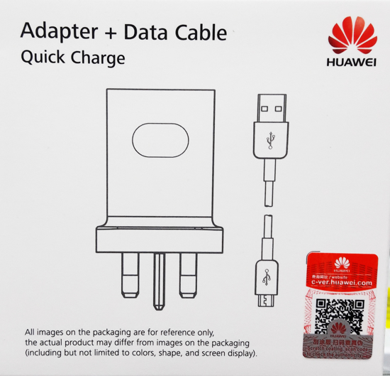 Picture of Huawei Quick Charge Adapter With Micro USB Cable