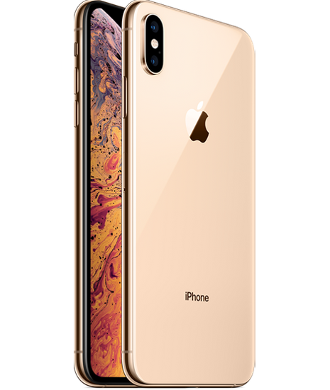 Picture of iPhone XS Max 64GB Dual Sim with Facetime (Gold)