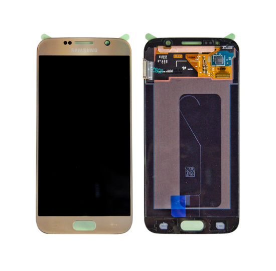 Picture of S6 G920 LCD GOLD(GH97-17260C)