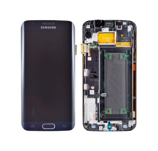 Picture of S6 EDGE G925 LCD BLACK(GH97-17162A)