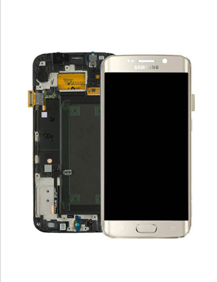 Picture of S6 EDGE G925 LCD GOLD(GH97-17162C)