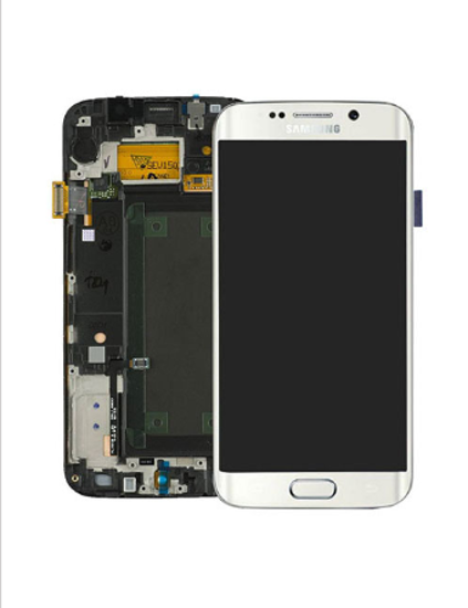 Picture of S6 EDGE G925 LCD WHITE(GH97-17162B)