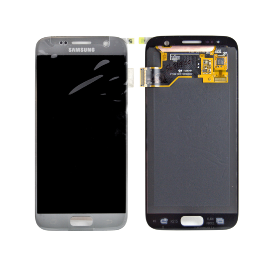 Picture of S7 G930 LCD SILVER(GH97-18523B)