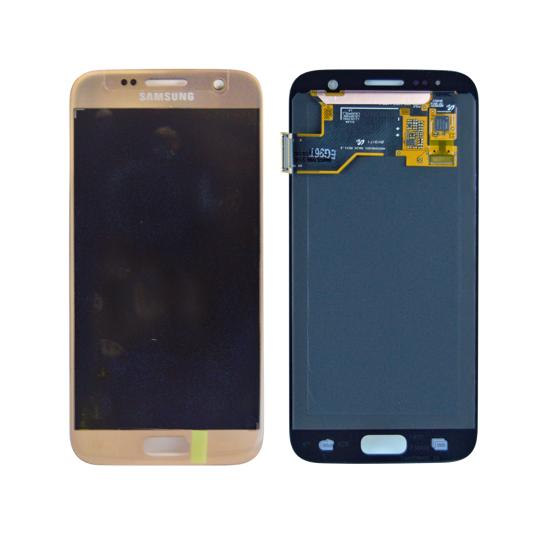 Picture of S7 G930 LCD GOLD(GH97-18523C)