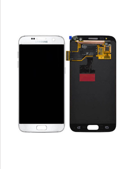 Picture of S7 G930 LCD WHITE(GH97-18523D)