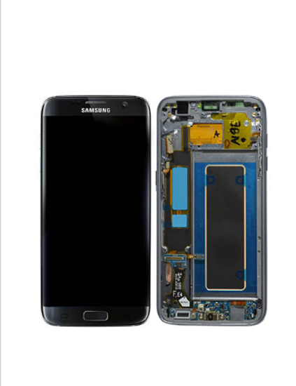 Picture of S7 EDGE G935 LCD BLACK(GH97-18533A)