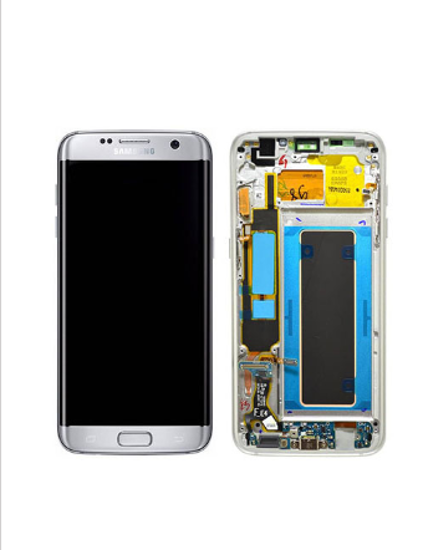 Picture of S7 EDGE G935 LCD SILVER(GH97-18533B)
