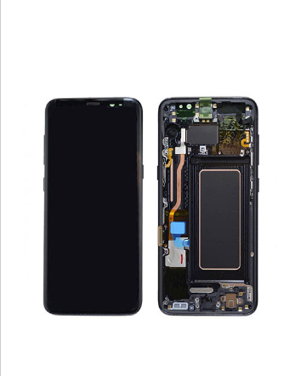 Picture of S8 G950 LCD BLACK(GH97-20457A)