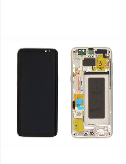 Picture of S8 G950 LCD GOLD(GH97-20457F)