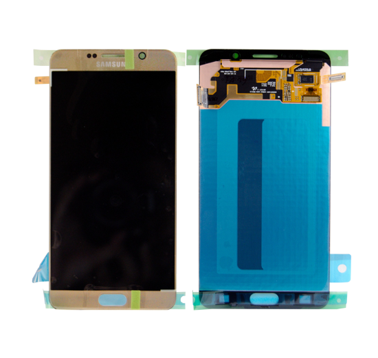 Picture of NOTE 5 N920 LCD GOLD(GH97-17755A)
