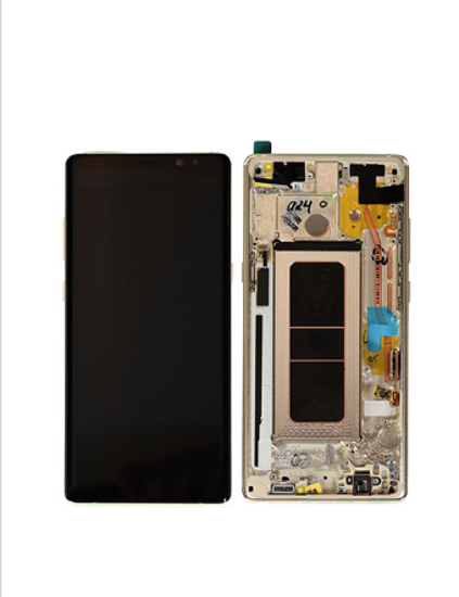Picture of NOTE 8 N950 LCD GOLD(GH97-21065D)
