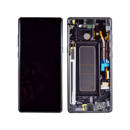 Picture of NOTE 8 LCD BLACK(GH97-21065A)