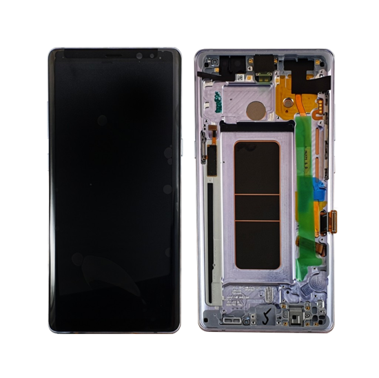 Picture of NOTE 8 LCD GREY  VOILET(GH97-21065C)